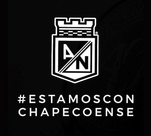 Equipos y jugadores expresan sus condolencias a el equipo Chapecoense