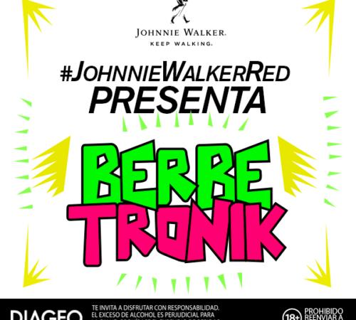Johnnie Walker Red Label le sube el nivel al Carnaval de Barranquilla con BerbeTronik
