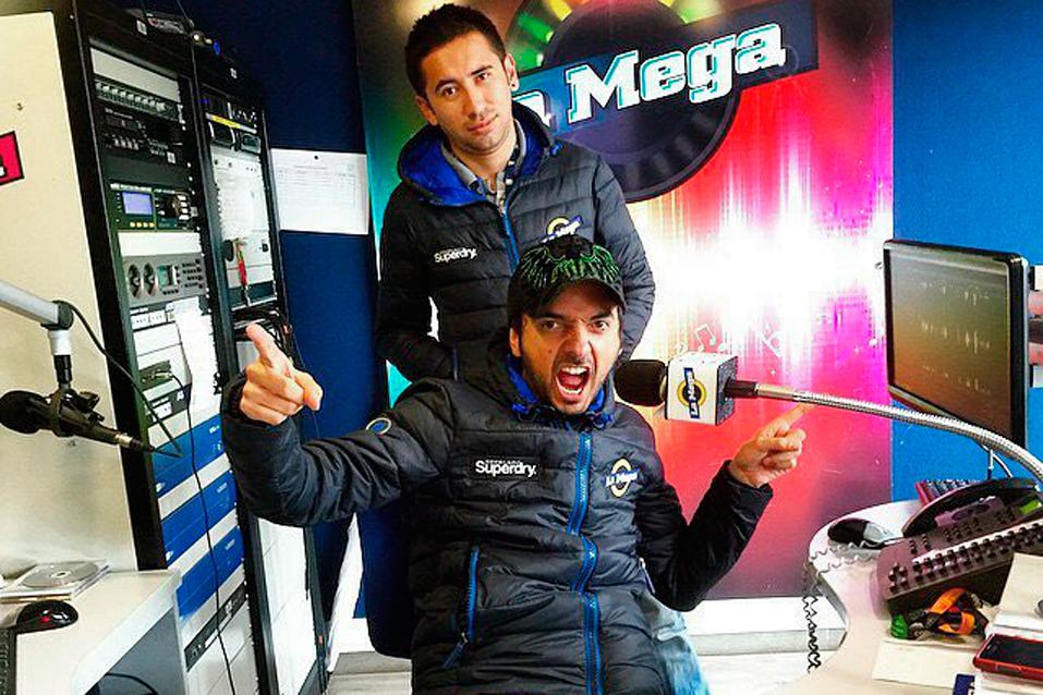 Fotos de los presentadores de la mega 30