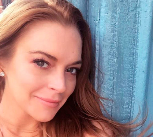 Lindsay Lohan recuperó su figura