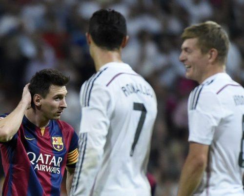 Cristiano y Messi, entre los 10 famosos que más ganan
