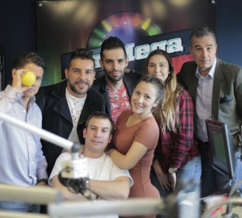 Fotos de los presentadores de la mega