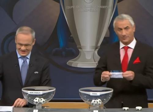 [VIDEO] ¿Hubo trampa en el sorteo de las semifinales de la Champions League?