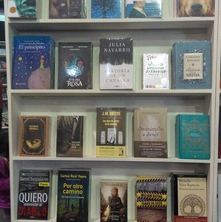 El libro de daniel trespalacios entre los m s vendidos en la feria del libro 2017 la mega - Libros antiguos mas buscados ...