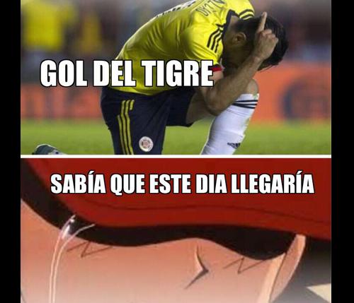 Los mejores memes del empate de la Selección Colombia ante España