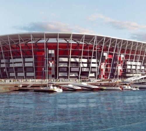 El novedoso estadio desmontable que ya alistan para mundial de Qatar 2022