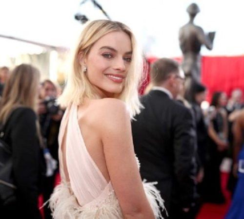 Así reaccionó Margot Robbieluego de su nominación al Óscar