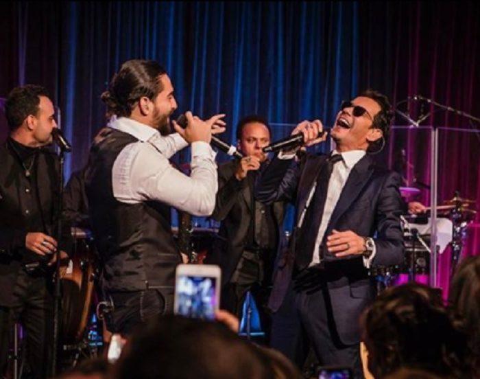 Maluma habló sobre su beso con Marc Anthony