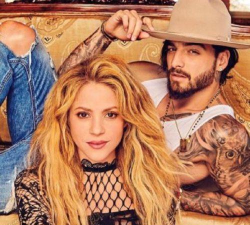 Shakira y Maluma protagonizan una sensual sesión de fotos para Billboard
