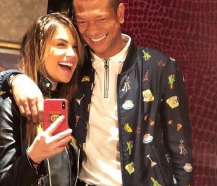 Sara Uribe y Fredy Guarín se pusieron picantes en pleno en vivo en Instagram