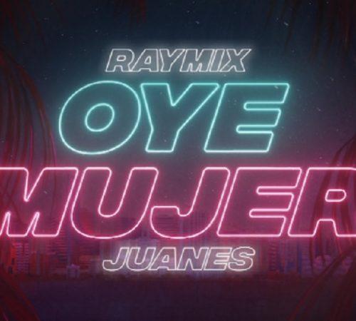 Juanes se une a la electro-cumbia de Raymixcon 'Oye mujer'