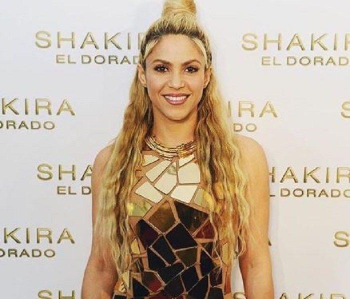 Shakira se prepara para su tour con esta sensual rutina