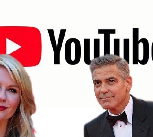 YouTube produce una serie de comedia con Kirsten Dunst y George Clooney