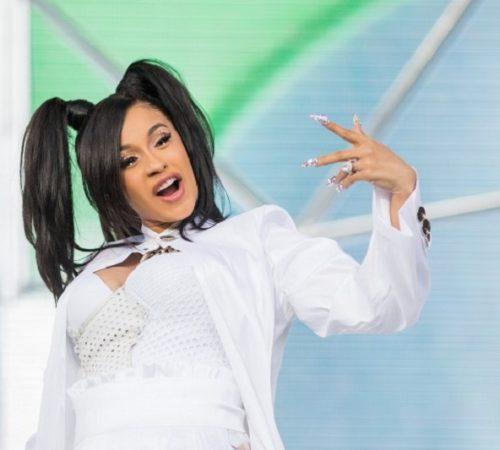 Cardi B hace twerking embarazada para celebrar su nuevo número uno en Billboard