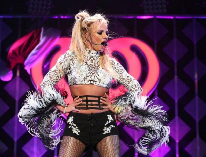 Britney Spears mostró de más por cuenta de una falla de vestuario