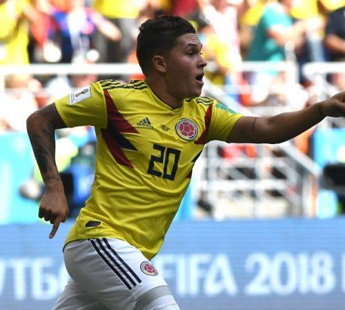 Gol de Quintero a Japón, nominado para ser el mejor del Mundial