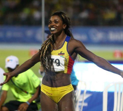 Caterine Ibargüen, oro y récord en salto triple de los Centroamericanos