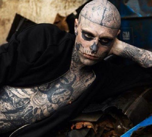 Famoso modelo conocido como 'Zombie boy' murió en aparente suicidio