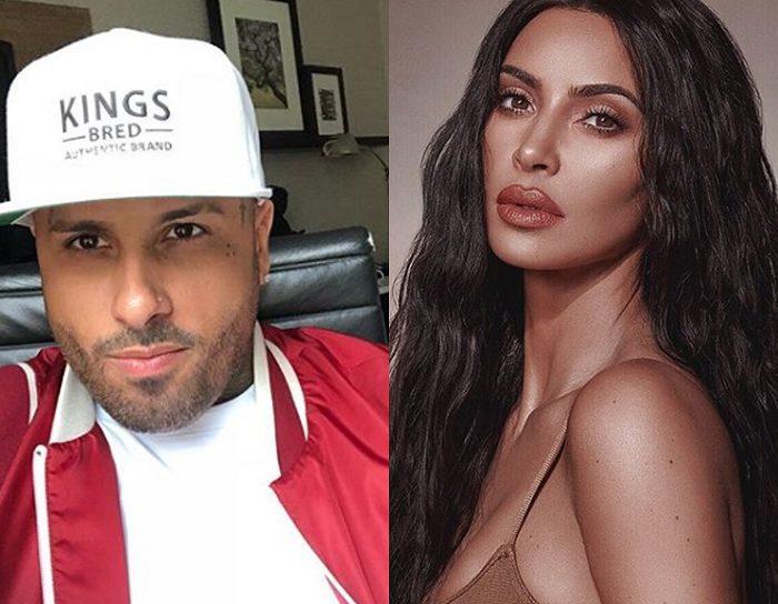 Así reaccionó Kim Kardashian al conocer a Nicky Jam