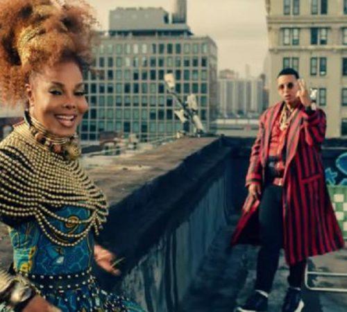 Janet Jackson vuelve a la música con canción junto a Daddy Yankee