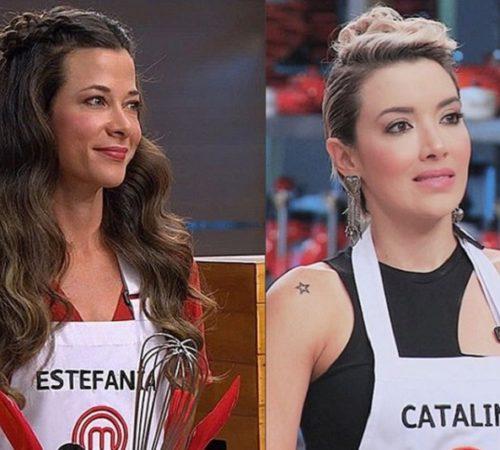 La fuerte discusión de Estefanía Borge y Catalina Gómez en MasterChef