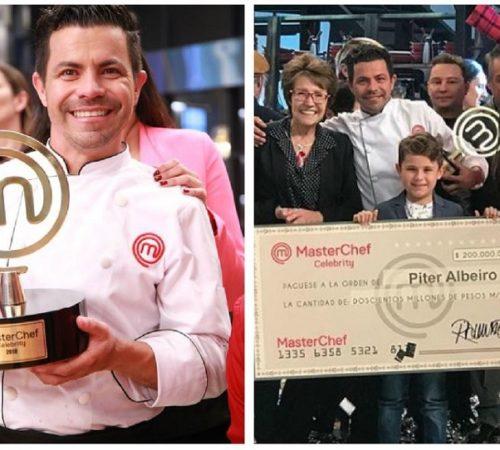 Piter Albeiro se coronó ganador de MasterChef Celebrity