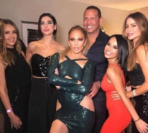 JLo y sus invitadas especiales causaron revuelo en concierto en Las Vegas