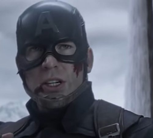 Presentador confunde escena de Capitán América con un accidente real