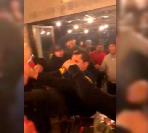 La supuesta pelea entre hinchas de Boca y River que se volvió viral