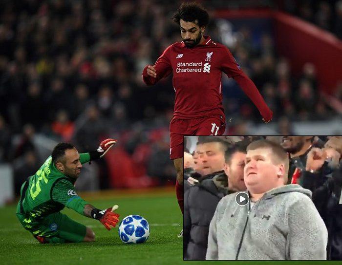 Así fue como hincha del Liverpool le relató un gol a su amigo ciego