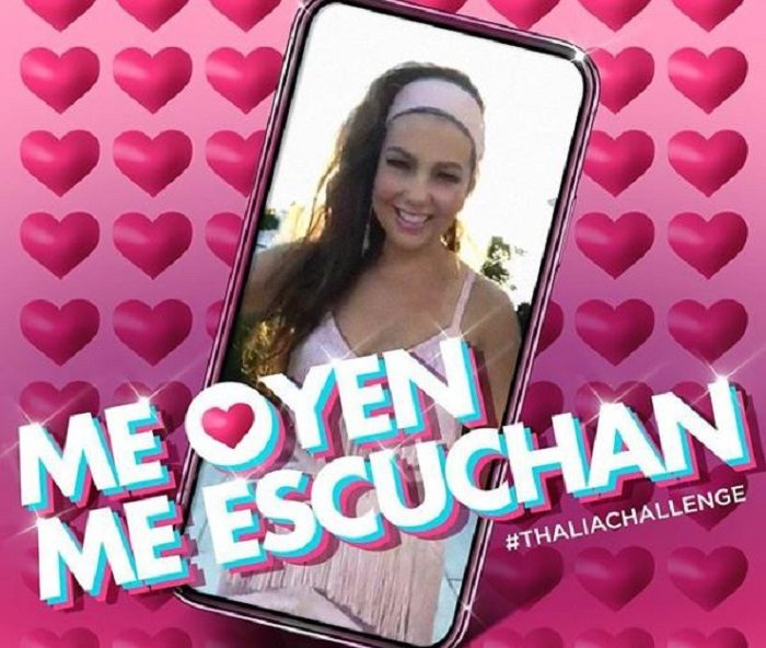 'Me oyen, me escuchan', de Thalía, es la canción WTF de 2018