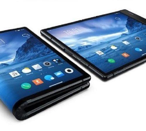 Este es el primer celular inteligente con pantalla plegable