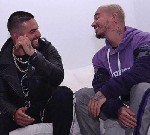 ¿Maluma y J Balvin lanzarán una canción juntos?