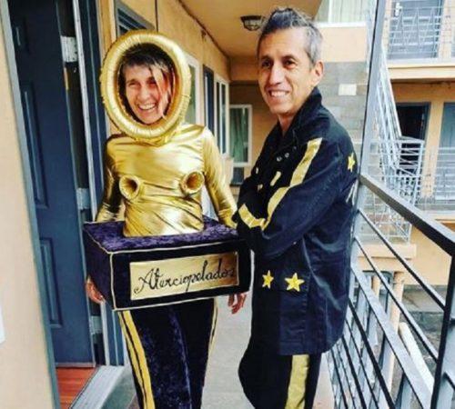 Andrea Echeverri se robó el show con su atuendo en los Grammy