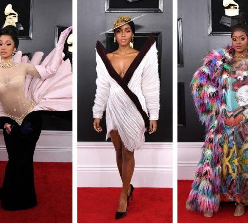 Los looks más extravagantes que vimos en los Grammy