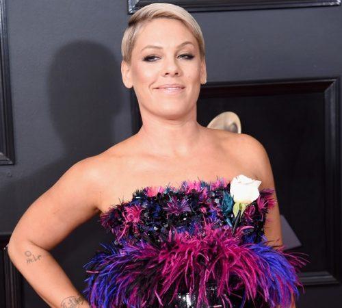 Hijos de Pink le dieron un tierno premio de consolación por no ganar el Grammy