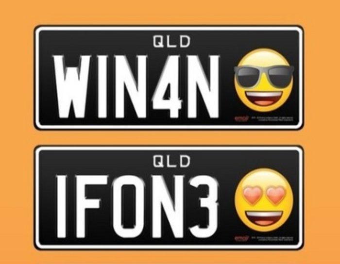 ¿Placas con emojis? Pronto serán una realidad